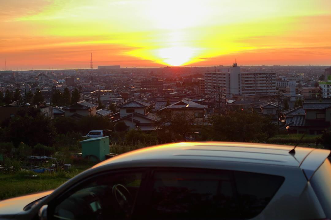 今日の夕焼け_e0403850_22025895.jpg