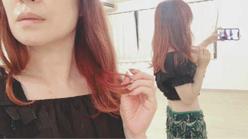 髪を明るくした☆使えるエコバッグと風呂敷_a0142778_12052624.jpg