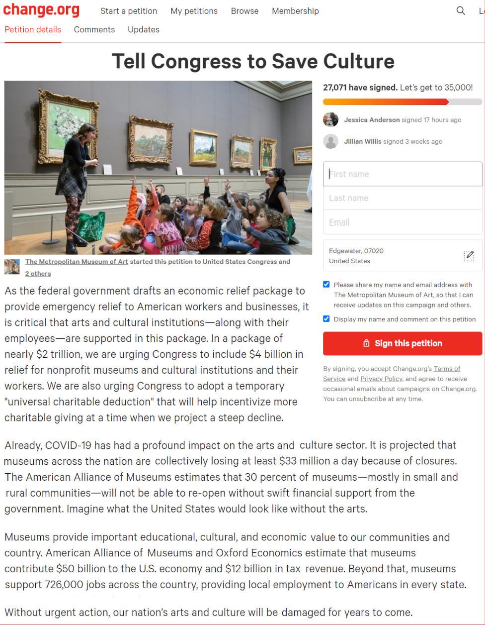 来週月曜日8月24日から、ニューヨークの美術館など室内施設が再オープンへ_b0007805_23115342.jpg