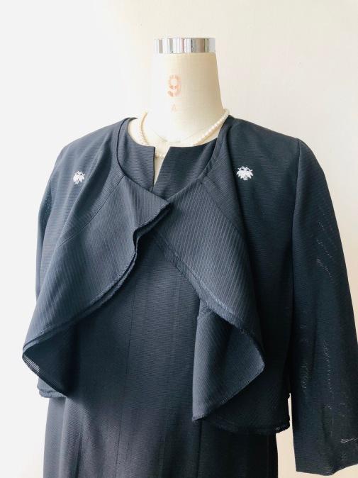 着物リメイク・絽の着物からボレロ_d0127925_13163523.jpg