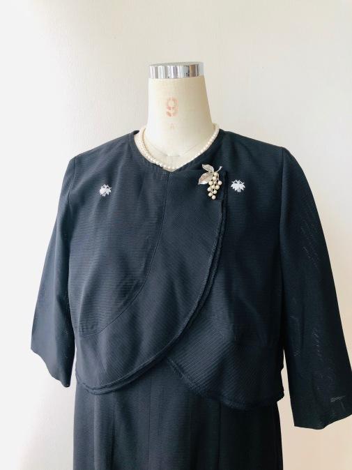 着物リメイク・絽の着物からボレロ_d0127925_13165302.jpg