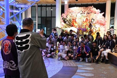 希望と継承 マチニワ山車展示どお囃子披露 長者山新羅神社_c0299631_06554209.jpg