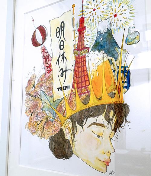 オンナノコのアタマの中をみてみたら…【さかあさこ イラスト展~anoko】特別anoko弁当も登場!_a0017350_10060718.jpg