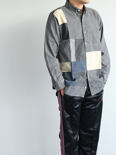 SLIDER STORE × WEST\'S(WESTOVERALLS) Used Remake Shirt_b0139281_17284890.jpg