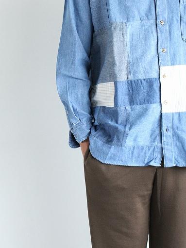SLIDER STORE × WEST\'S(WESTOVERALLS) Used Remake Shirt_b0139281_17285833.jpg