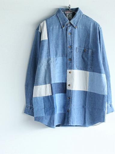 SLIDER STORE × WEST\'S(WESTOVERALLS) Used Remake Shirt_b0139281_17295199.jpg
