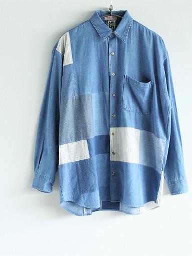 SLIDER STORE × WEST\'S(WESTOVERALLS) Used Remake Shirt_b0139281_1730219.jpg