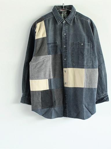 SLIDER STORE × WEST\'S(WESTOVERALLS) Used Remake Shirt_b0139281_17302971.jpg