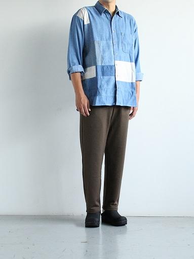 SLIDER STORE × WEST\'S(WESTOVERALLS) Used Remake Shirt_b0139281_1741723.jpg