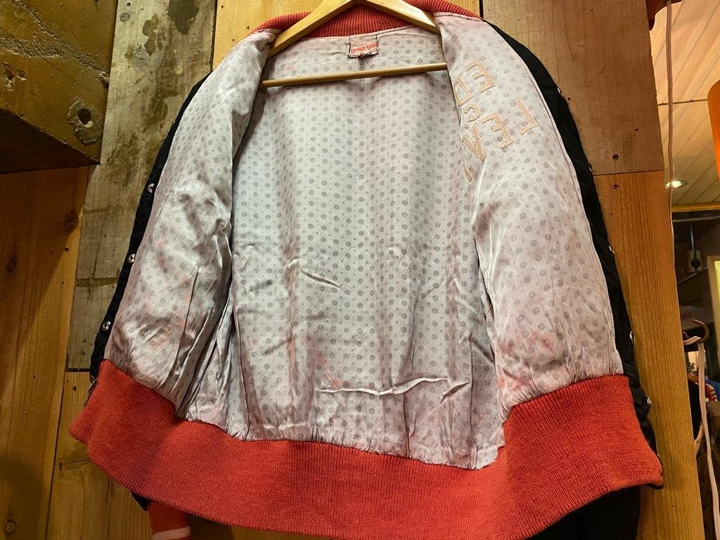 8月19日(水)マグネッツ大阪店秋物ヴィンテージ入荷日 #4 Vintage Varsity JKT編Parrt1!!Cotton,Corduroy&Satin!!_c0078587_12584325.jpg