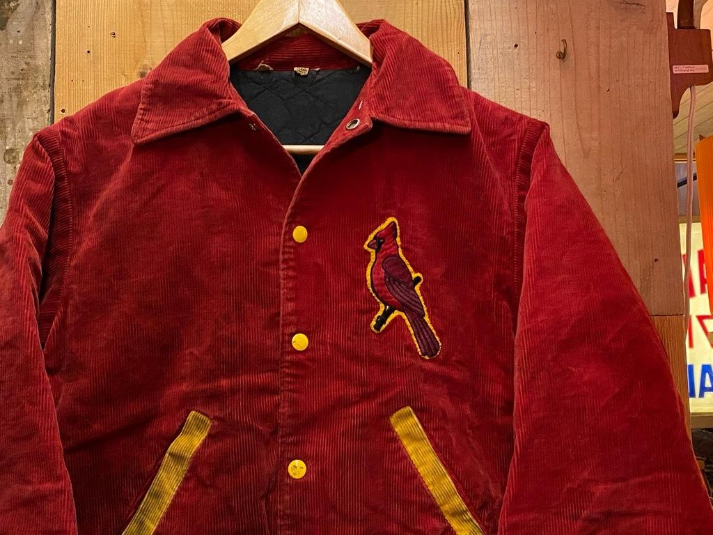 8月19日(水)マグネッツ大阪店秋物ヴィンテージ入荷日 #4 Vintage Varsity JKT編Parrt1!!Cotton,Corduroy&Satin!!_c0078587_13005343.jpg