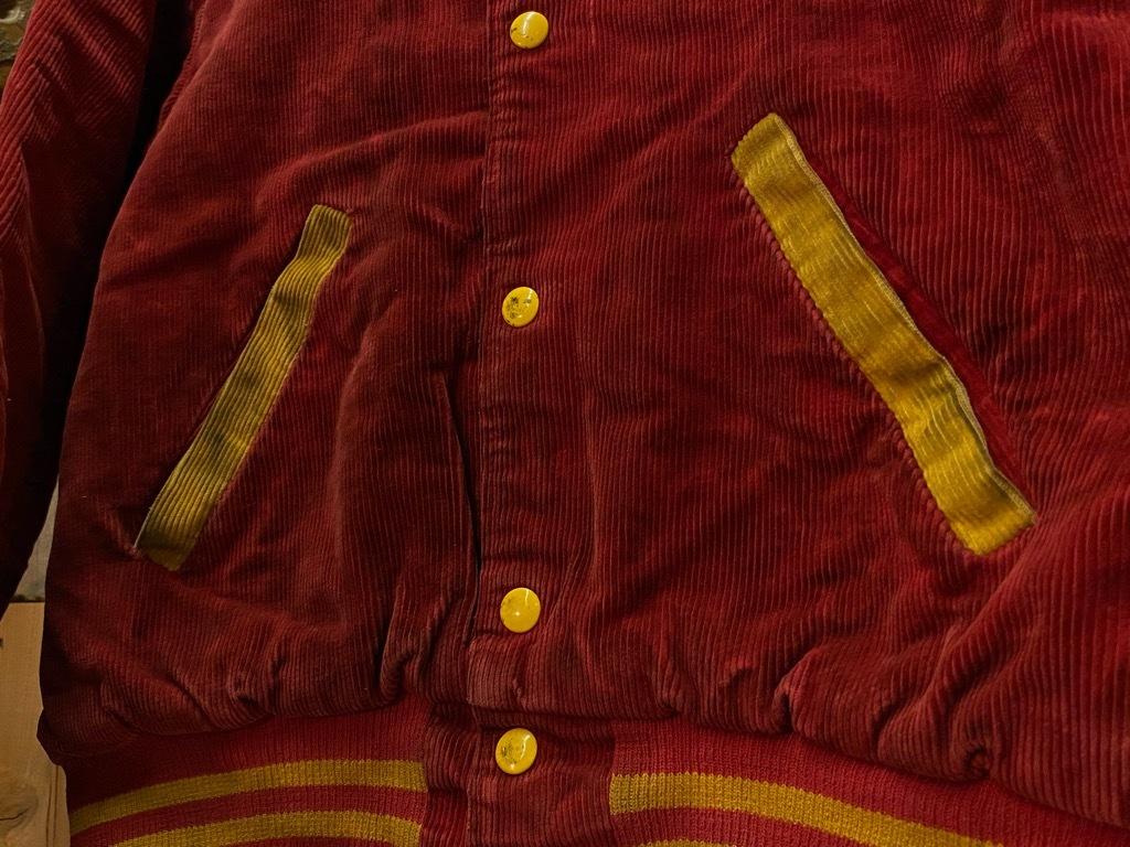 8月19日(水)マグネッツ大阪店秋物ヴィンテージ入荷日 #4 Vintage Varsity JKT編Parrt1!!Cotton,Corduroy&Satin!!_c0078587_13005852.jpg