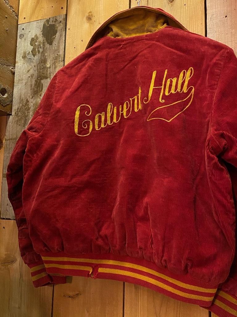 8月19日(水)マグネッツ大阪店秋物ヴィンテージ入荷日 #4 Vintage Varsity JKT編Parrt1!!Cotton,Corduroy&Satin!!_c0078587_13010665.jpg