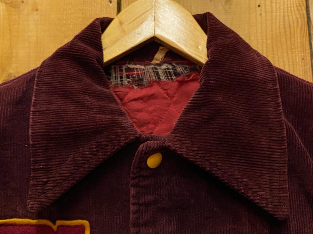 8月19日(水)マグネッツ大阪店秋物ヴィンテージ入荷日 #4 Vintage Varsity JKT編Parrt1!!Cotton,Corduroy&Satin!!_c0078587_13025423.jpg
