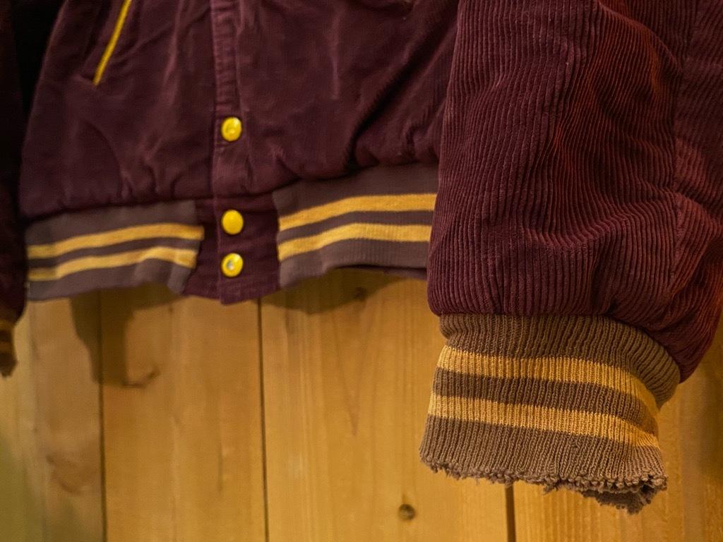 8月19日(水)マグネッツ大阪店秋物ヴィンテージ入荷日 #4 Vintage Varsity JKT編Parrt1!!Cotton,Corduroy&Satin!!_c0078587_13025918.jpg