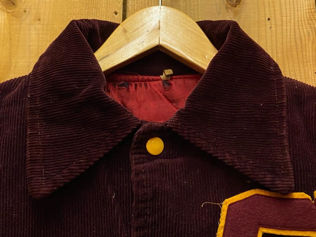 8月19日(水)マグネッツ大阪店秋物ヴィンテージ入荷日 #4 Vintage Varsity JKT編Parrt1!!Cotton,Corduroy&Satin!!_c0078587_13042143.jpg