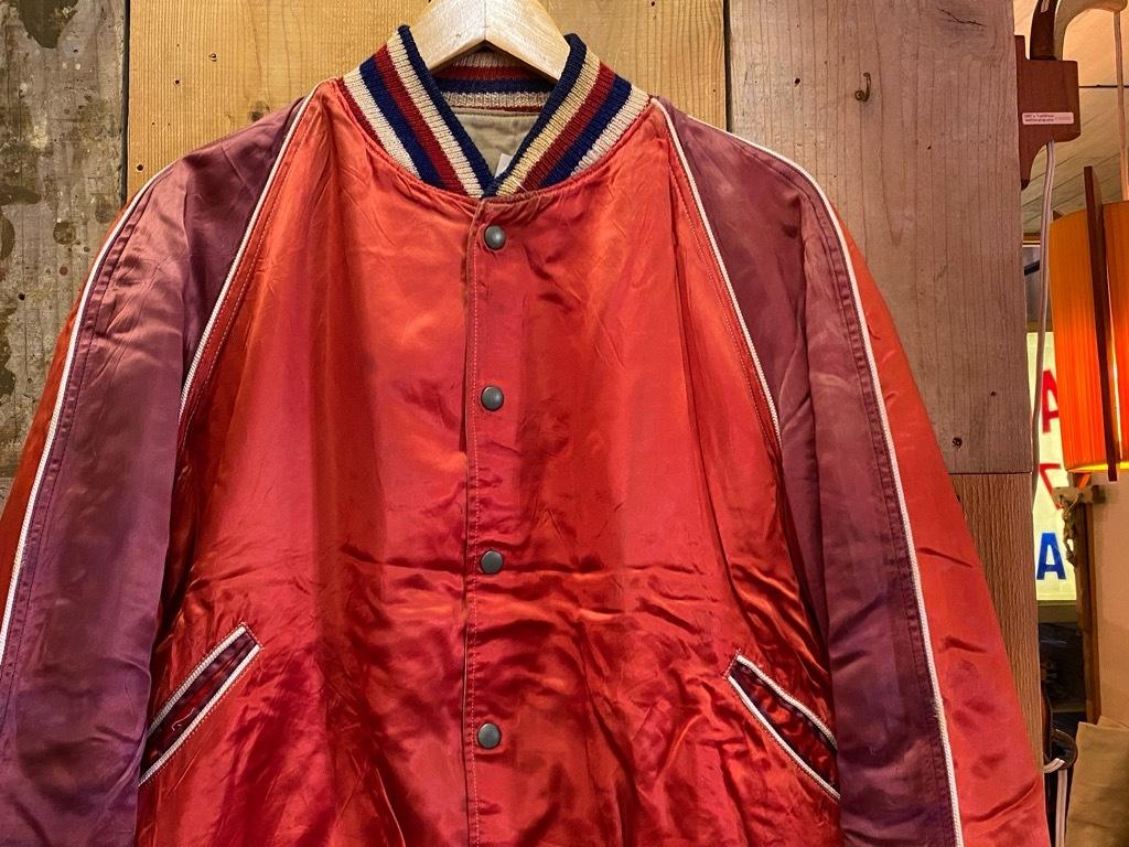 8月19日(水)マグネッツ大阪店秋物ヴィンテージ入荷日 #4 Vintage Varsity JKT編Parrt1!!Cotton,Corduroy&Satin!!_c0078587_13060484.jpg