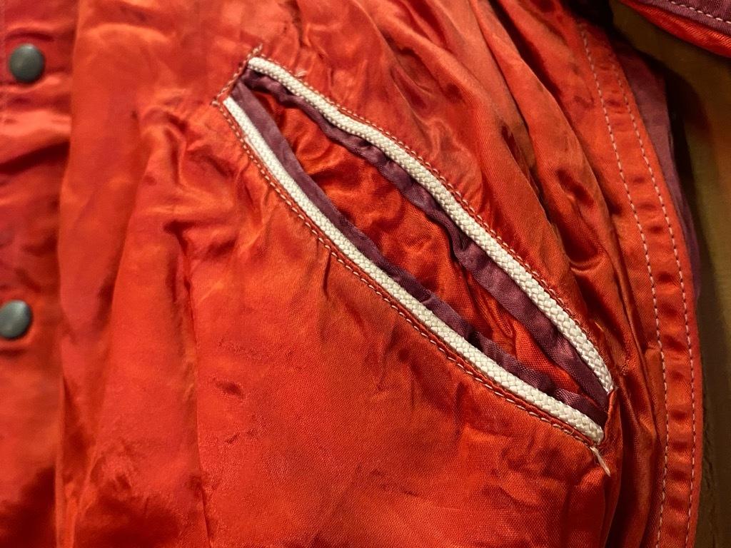 8月19日(水)マグネッツ大阪店秋物ヴィンテージ入荷日 #4 Vintage Varsity JKT編Parrt1!!Cotton,Corduroy&Satin!!_c0078587_13060800.jpg
