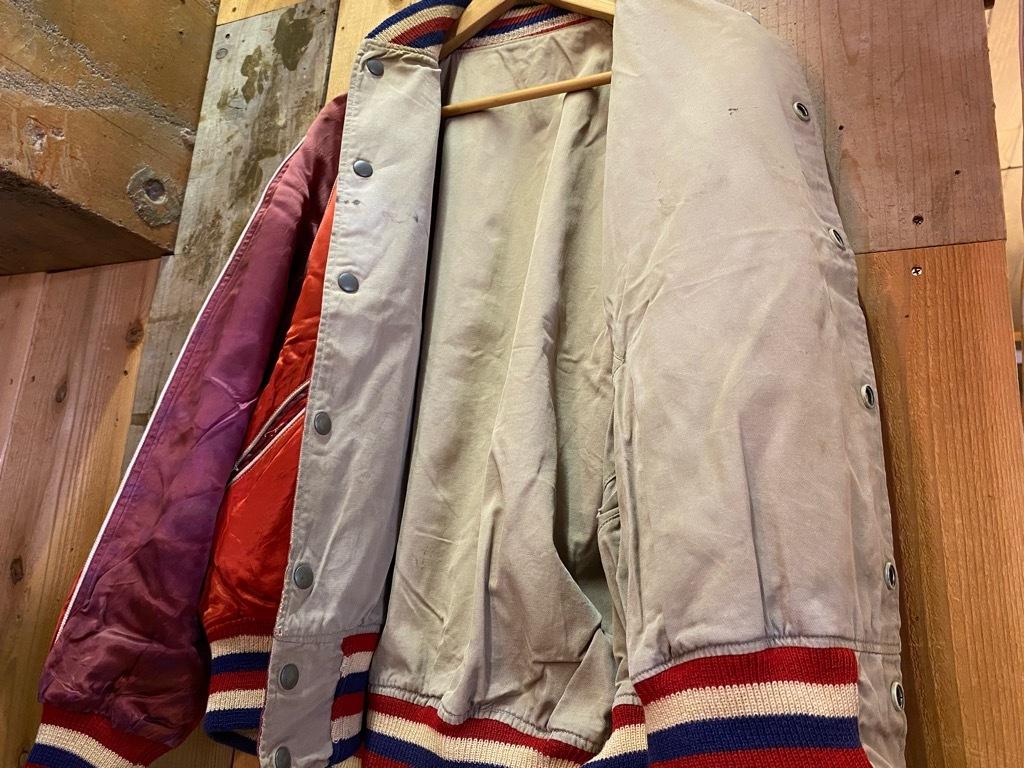 8月19日(水)マグネッツ大阪店秋物ヴィンテージ入荷日 #4 Vintage Varsity JKT編Parrt1!!Cotton,Corduroy&Satin!!_c0078587_13061653.jpg