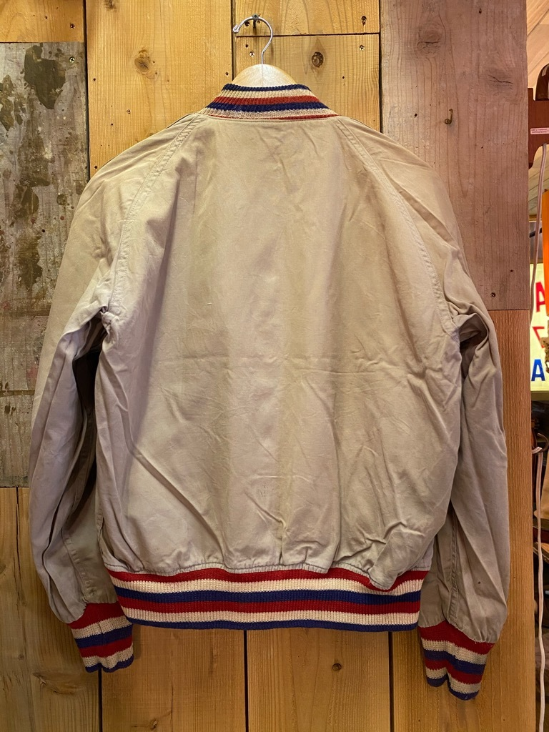 8月19日(水)マグネッツ大阪店秋物ヴィンテージ入荷日 #4 Vintage Varsity JKT編Parrt1!!Cotton,Corduroy&Satin!!_c0078587_13062194.jpg