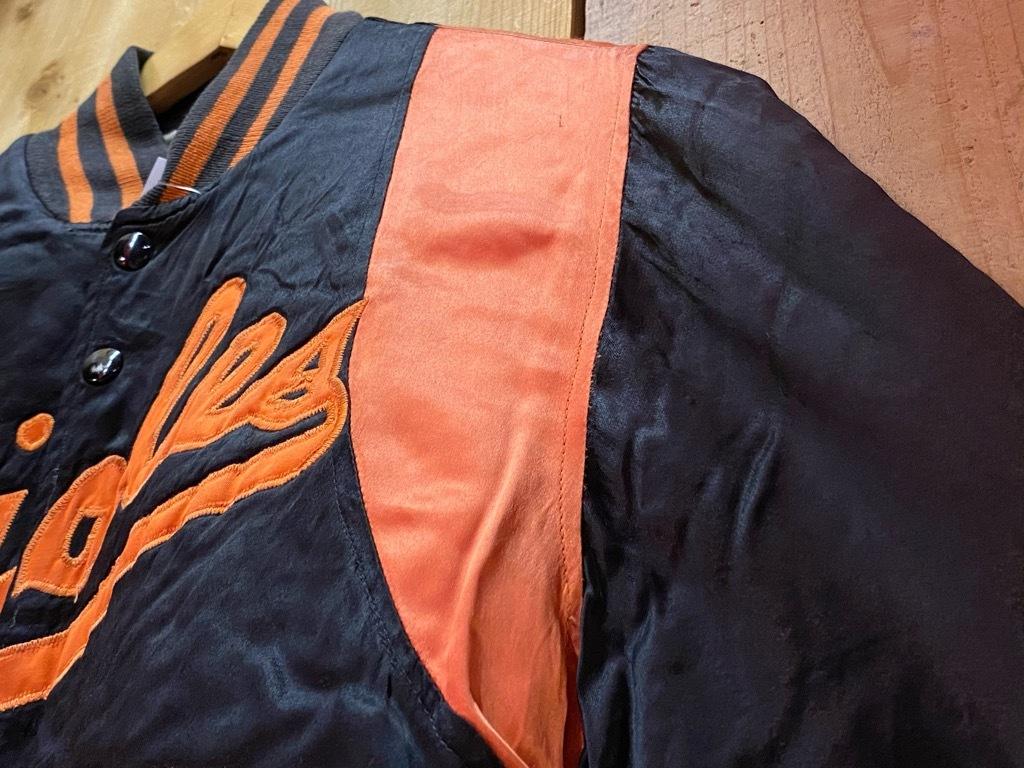 8月19日(水)マグネッツ大阪店秋物ヴィンテージ入荷日 #4 Vintage Varsity JKT編Parrt1!!Cotton,Corduroy&Satin!!_c0078587_17325721.jpg