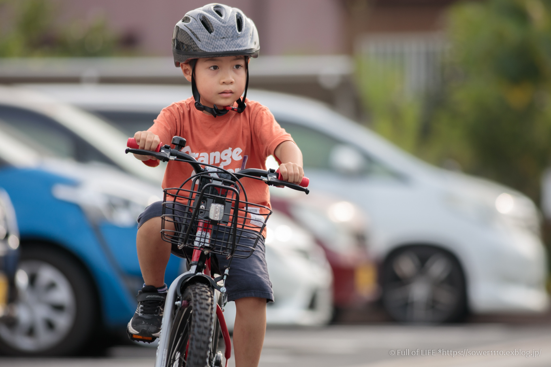 コロナ禍の夏休み 自転車の練習をしよう!_c0369219_16501339.jpg