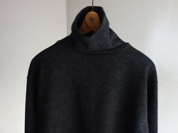 10月の製作 / DA woolknit highneck longsleeve_e0130546_15144337.jpg