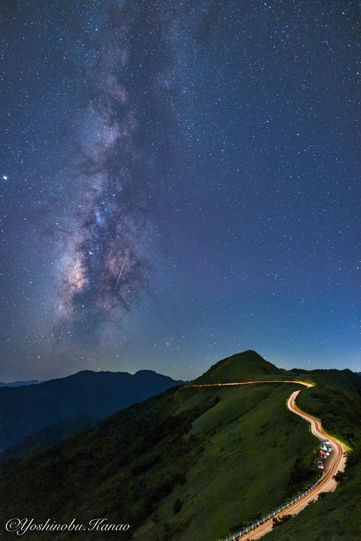 UFOラインから望む天の川_b0222467_23103749.jpg