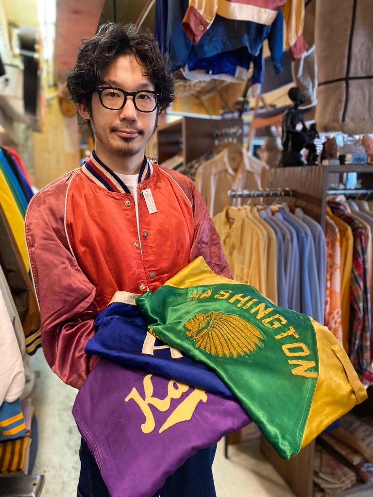 8月19日(水)マグネッツ大阪店秋物ヴィンテージ入荷日 #4 Vintage Varsity JKT編Parrt1!!Cotton,Corduroy&Satin!!_c0078587_13103924.jpg