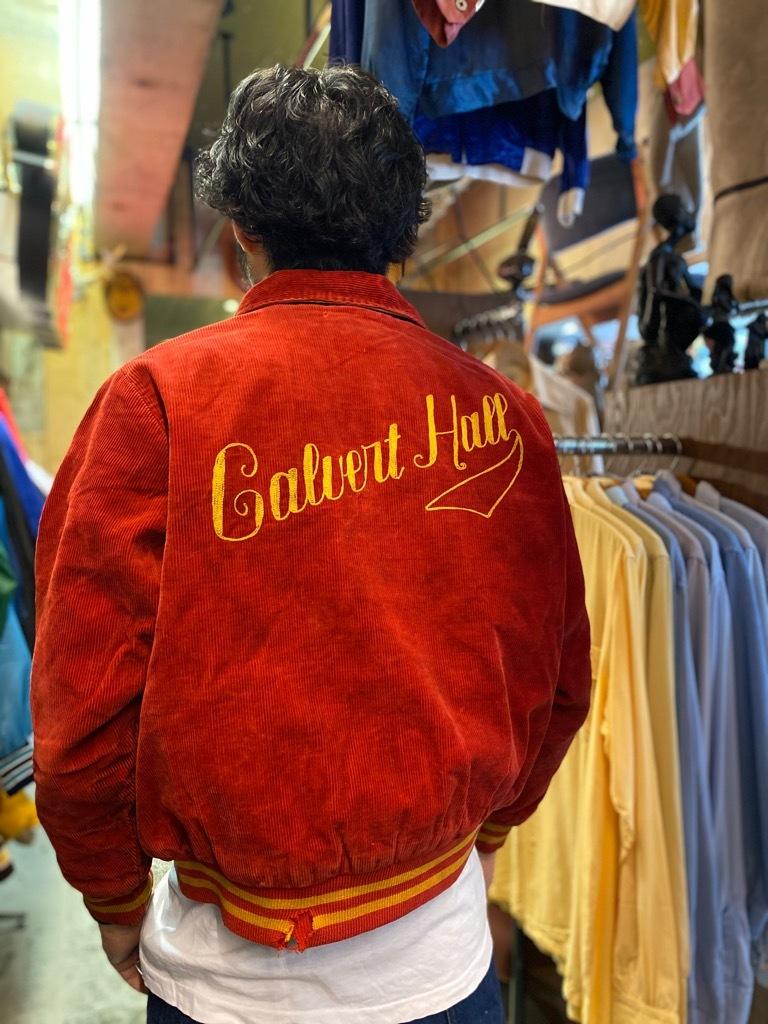 8月19日(水)マグネッツ大阪店秋物ヴィンテージ入荷日 #4 Vintage Varsity JKT編Parrt1!!Cotton,Corduroy&Satin!!_c0078587_13104551.jpg