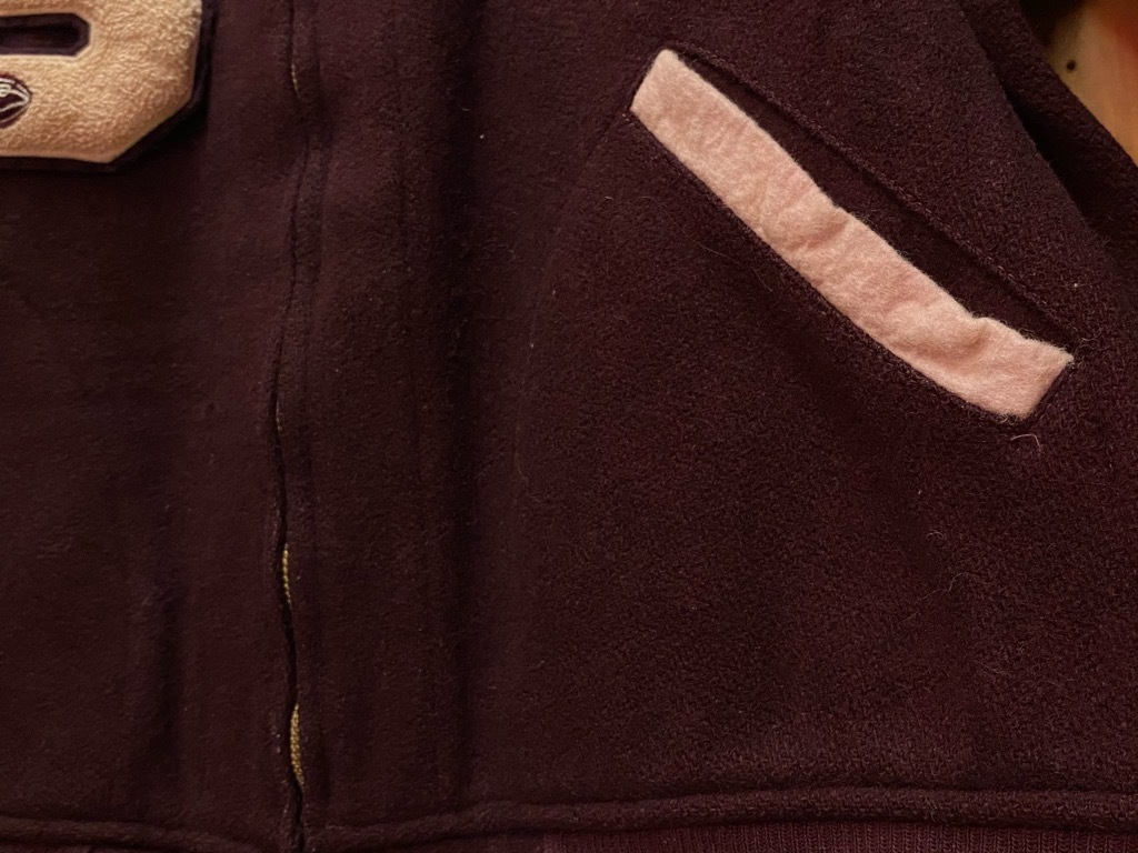 8月19日(水)マグネッツ大阪店秋物ヴィンテージ入荷日 #5 Vintage Varsity JKT編Parrt2!!ハトメ、ランタグ、ボタスタ&ベンチジャケット!!_c0078587_13171727.jpg