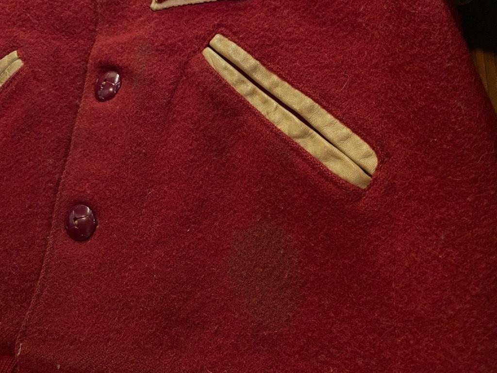 8月19日(水)マグネッツ大阪店秋物ヴィンテージ入荷日 #5 Vintage Varsity JKT編Parrt2!!ハトメ、ランタグ、ボタスタ&ベンチジャケット!!_c0078587_13223389.jpg