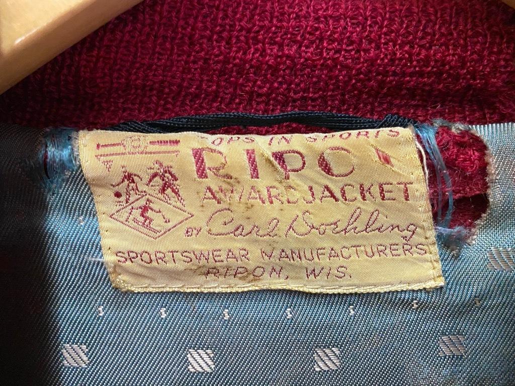 8月19日(水)マグネッツ大阪店秋物ヴィンテージ入荷日 #5 Vintage Varsity JKT編Parrt2!!ハトメ、ランタグ、ボタスタ&ベンチジャケット!!_c0078587_13250391.jpg