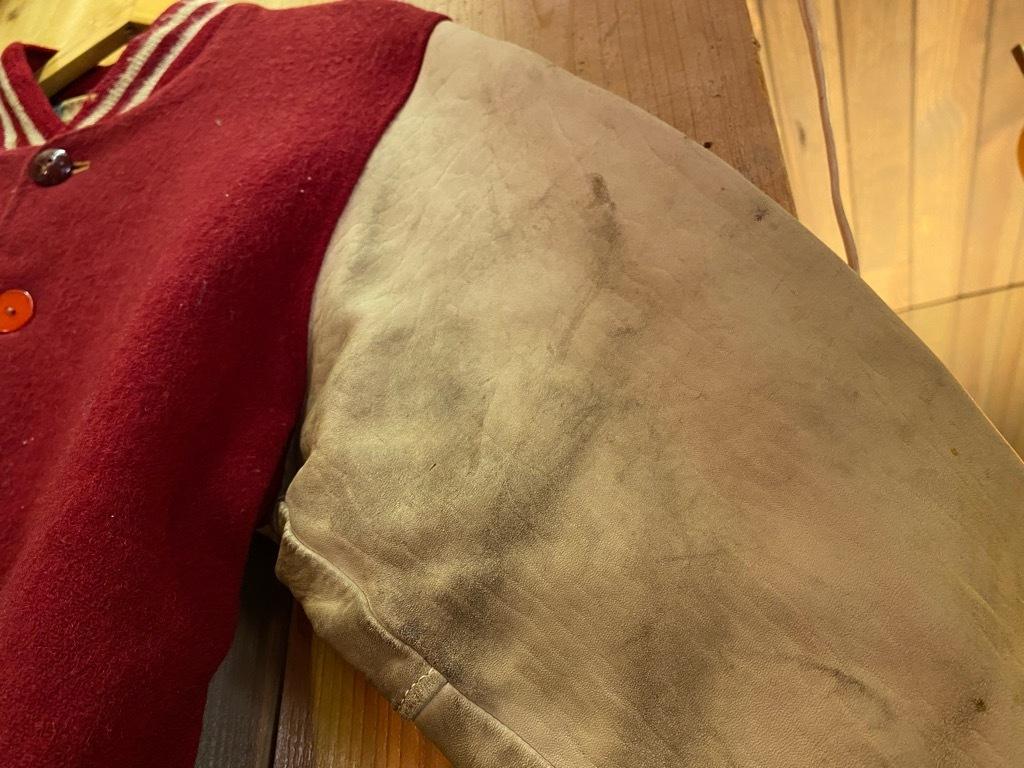 8月19日(水)マグネッツ大阪店秋物ヴィンテージ入荷日 #5 Vintage Varsity JKT編Parrt2!!ハトメ、ランタグ、ボタスタ&ベンチジャケット!!_c0078587_13250998.jpg