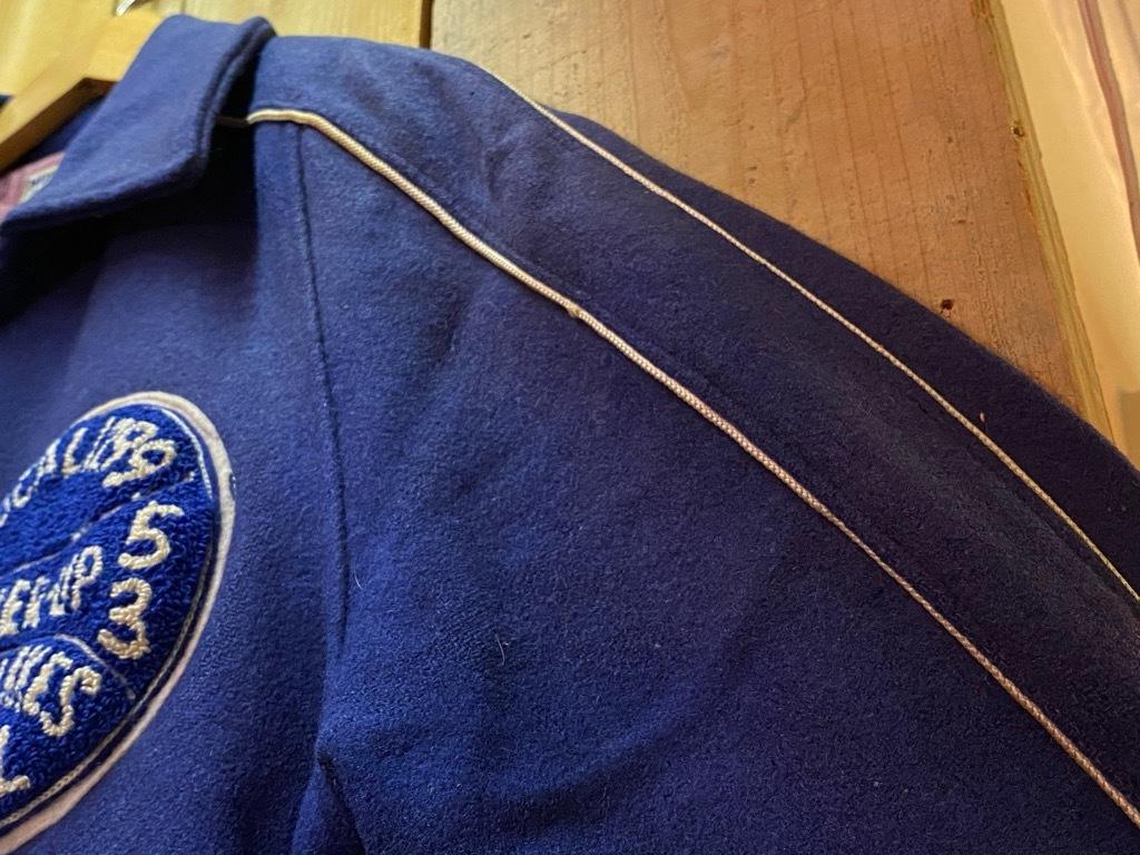 8月19日(水)マグネッツ大阪店秋物ヴィンテージ入荷日 #5 Vintage Varsity JKT編Parrt2!!ハトメ、ランタグ、ボタスタ&ベンチジャケット!!_c0078587_17343446.jpg