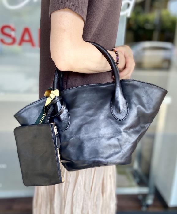 Ampersandアンパサンド Ampersand leather baske bag S 0220-134_e0076692_18373027.jpeg