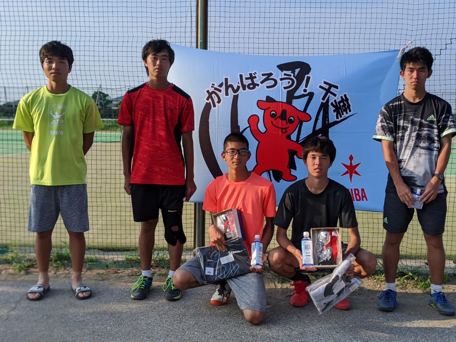 千葉ジュニアFYSカップ 本戦結果 8月16日 サニー共同コート_b0215094_21455014.jpg