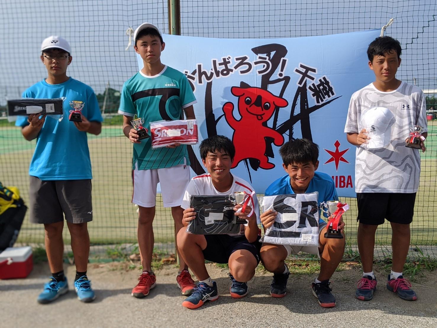 千葉ジュニアFYSカップ 本戦結果 8月16日 サニー共同コート_b0215094_21471100.jpg