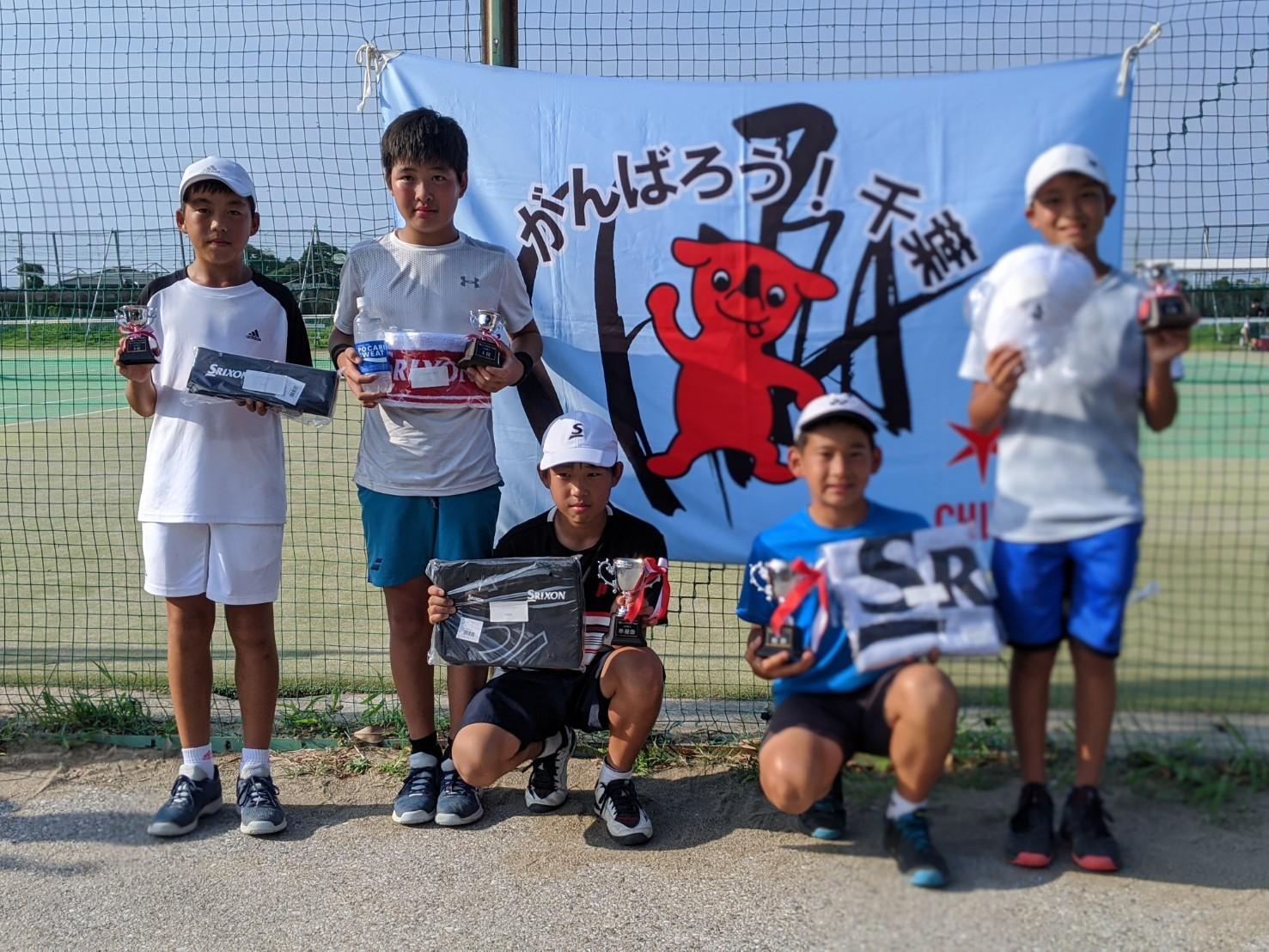 千葉ジュニアFYSカップ 本戦結果 8月16日 サニー共同コート_b0215094_21484375.jpg
