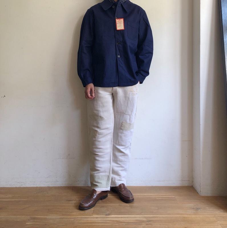 "40\'s Dead Stock Cotton Twill Workwear Made by \""DANTON\"" _f0370108_16221412.jpg"