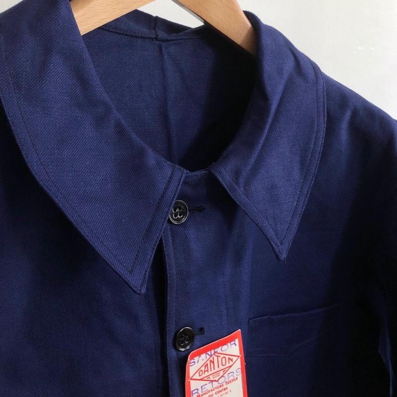 "40\'s Dead Stock Cotton Twill Workwear Made by \""DANTON\"" _f0370108_16221888.jpg"