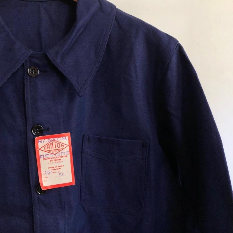 "40\'s Dead Stock Cotton Twill Workwear Made by \""DANTON\"" _f0370108_16222141.jpg"