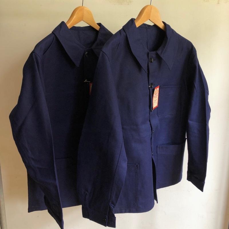 "40\'s Dead Stock Cotton Twill Workwear Made by \""DANTON\"" _f0370108_16255652.jpg"