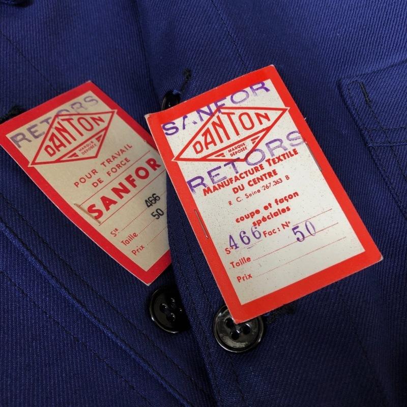 "40\'s Dead Stock Cotton Twill Workwear Made by \""DANTON\"" _f0370108_16261197.jpg"