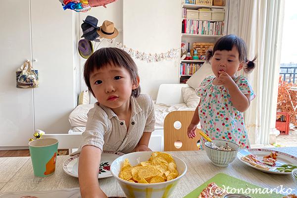 島っ子りんちゃん達との再会パーチー_c0024345_19033720.jpg