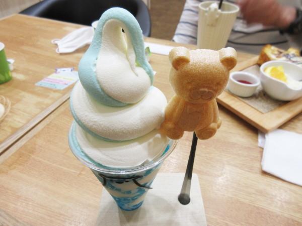Sweets&Deco 青いクマ_c0152767_19211506.jpg