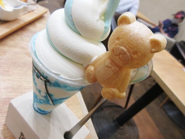 Sweets&Deco 青いクマ_c0152767_19253428.jpg