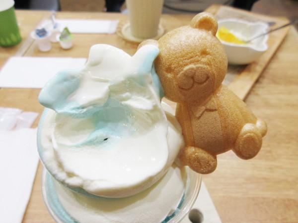 Sweets&Deco 青いクマ_c0152767_19464417.jpg