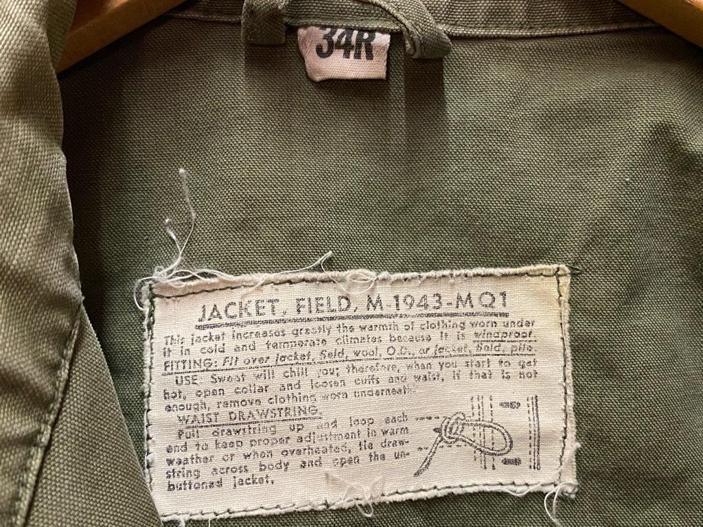 8月19日(水)マグネッツ大阪店秋物ヴィンテージ入荷日 #7 U.S.Military Part 2!! M-43,50,51 Field JKT!!_c0078587_21470032.jpg