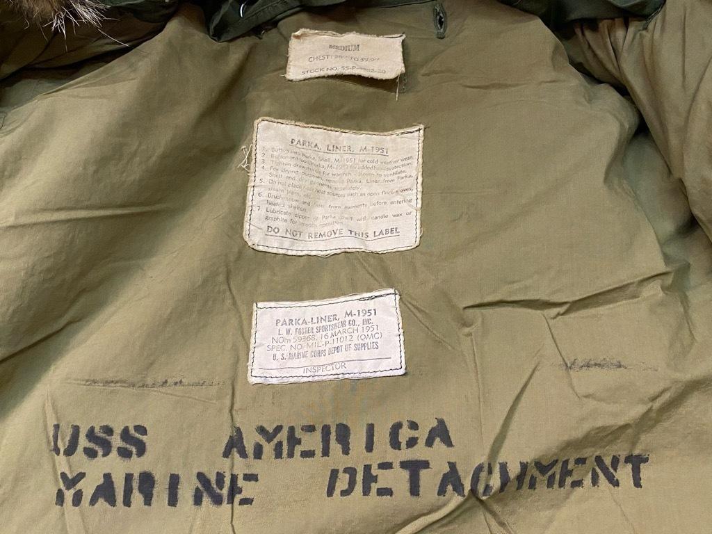 8月19日(水)マグネッツ大阪店秋物ヴィンテージ入荷日 #8 U.S.Military Part 3!! M-51 FishtailParka,M-41 SnowParka&M-43 Modified_c0078587_22055923.jpg